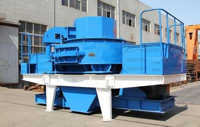 River stone sand making machine